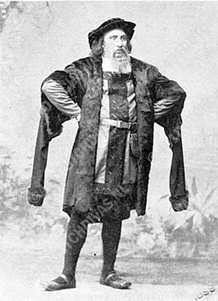 Anton van Rooy, vml. als Hans Sachs, bij de 'Wagnervereeniging'