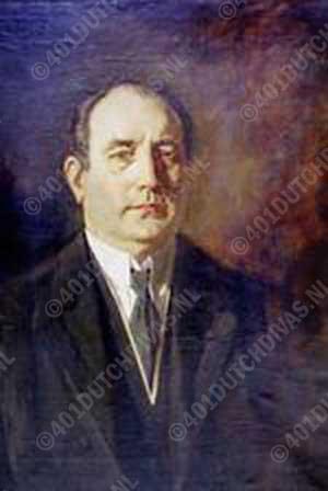 Henri Albers, portret door Salomon Garf