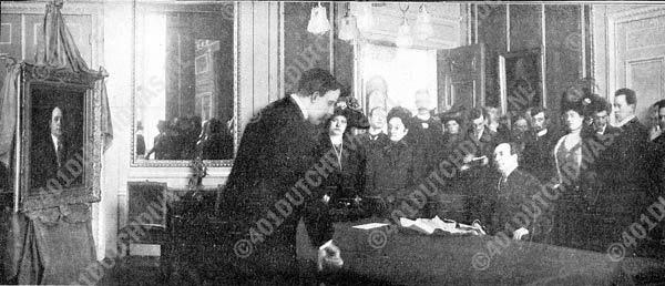 Henri Albers, huldiging 25-jarig jubileum