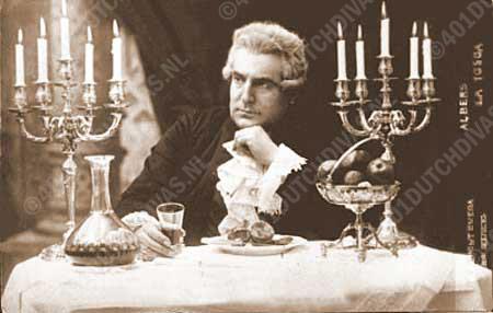 Henri Albers als Scarpia in Puccini's Tosca