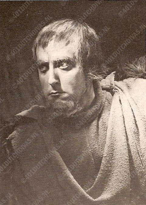 Arnold van Mill als Hunding, Bayreuther Festspiele 1951
