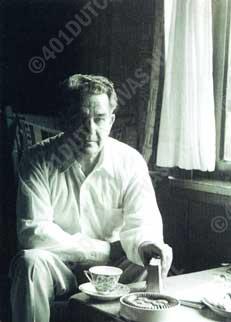 Eduard van Beinum aan de koffie