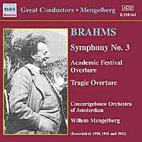 Mengelberg, Brahms