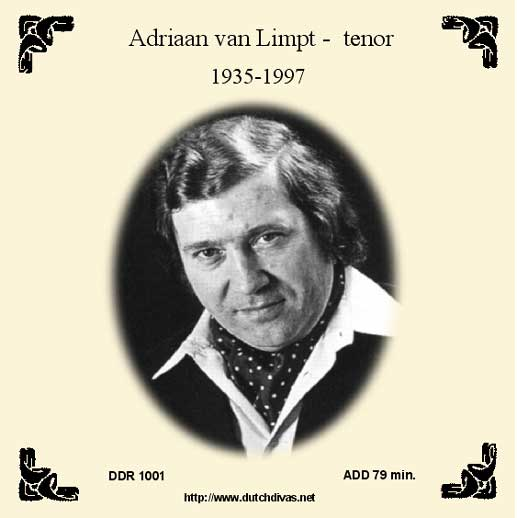 Adriaan van Limpt, tenor