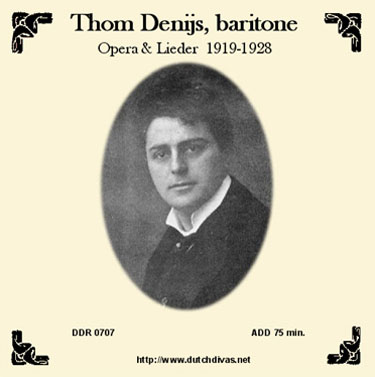 Thom Denijs cd1