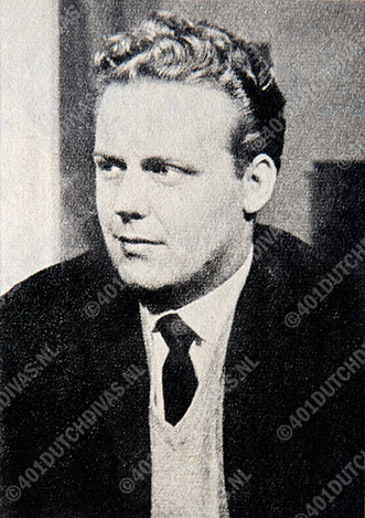 Dutch tenor Anton Trommelen in 1964 (Archives 401DutchDivas.nl)