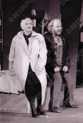 Wiebke Göetjes als Senta in Wagner's opera 'Der fliegende Holländer