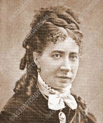 Wilhelmina Gips, born 29 Sept. 1843 in Dordrecht