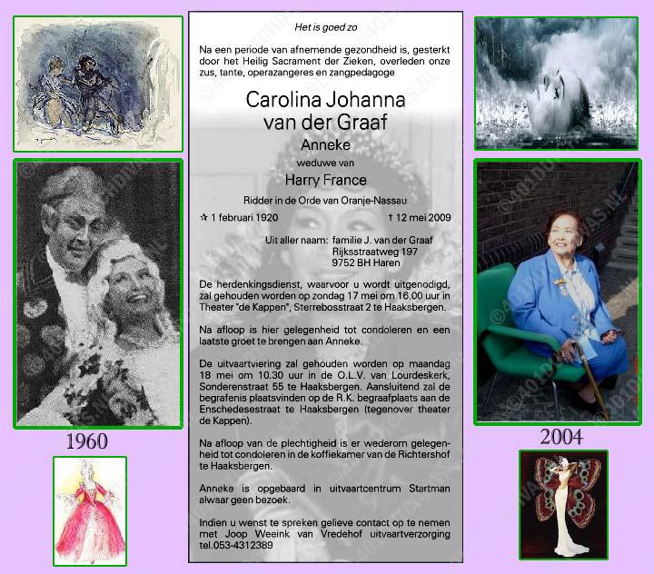 Memoriam, met dank aan John C. Koershuis
